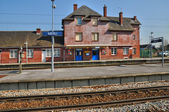 France,  Meru station in Oise — Stock Photo
