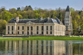 France, the castle of Mery sur Oise — Stock Photo