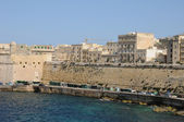 Malta, the picturesque city of Valetta — Stock Photo