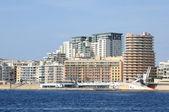 Malta, Sliema picturesque city — Stok fotoğraf