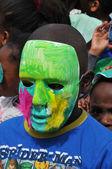 France, children carnival in Les Mureaux — Stock Photo