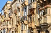 Malta, malebné město valetta — Stock fotografie