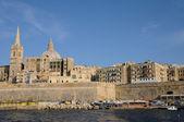 Malta, valetta pitoresk kenti — Stok fotoğraf