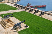 Malta, the picturesque city of Valetta — Foto de Stock