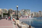 Malta, the picturesque city of Sliema — Stock Photo