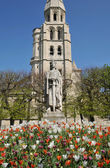 France, collegiate church of Poissy in Les Yvelines — Stock Photo