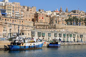 Malta, the picturesque bay of Valetta — Stock Photo