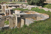 Malta, the megalithic temples of Tarxien — Stock Photo