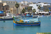 Malta, the picturesque city of Marsaxlokk — Stock Photo
