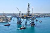 マルタ、バレッタの美しい湾 — Stockfoto