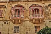 Malta, the picturesque city of Mdina — Stockfoto