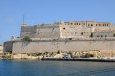 Malta, the picturesque bay of Valetta — 图库照片