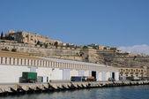 Malta, the picturesque bay of Valetta — Stock Photo