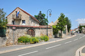 France, the picturesque village of Courdimanche  — Stock Photo