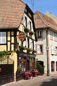 Alsace, the picturesque city of  Barr — Stock Photo