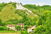 France, the picturesque village of Haute Isle   — Stock Photo