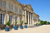 Picardie, the picturesque castle of  Compiegne in Oise — Stock Photo
