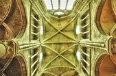 Yvelines, the church of Triel sur Seine — Stock Photo
