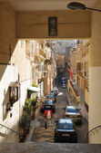 Malta, the picturesque city of Valetta — Zdjęcie stockowe