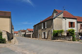 France, the picturesque village of Longuesse  — Stock Photo