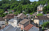 Picardie, the picturesque city of Pierrefonds in Oise — 图库照片