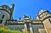 Picardie, the picturesque castle of Pierrefonds in Oise — 图库照片
