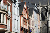 Normandie, the picturesque city of Rouen   — Stock Photo