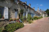 Picardie, the picturesque village of  Saint Jean aux Bois in Ois — Stock Photo