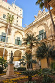 Malta, the great master palace of Valetta — Stock Photo