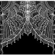 Lace background - Stok Vektör