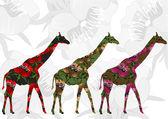 Beautiful africa — Stock Vector