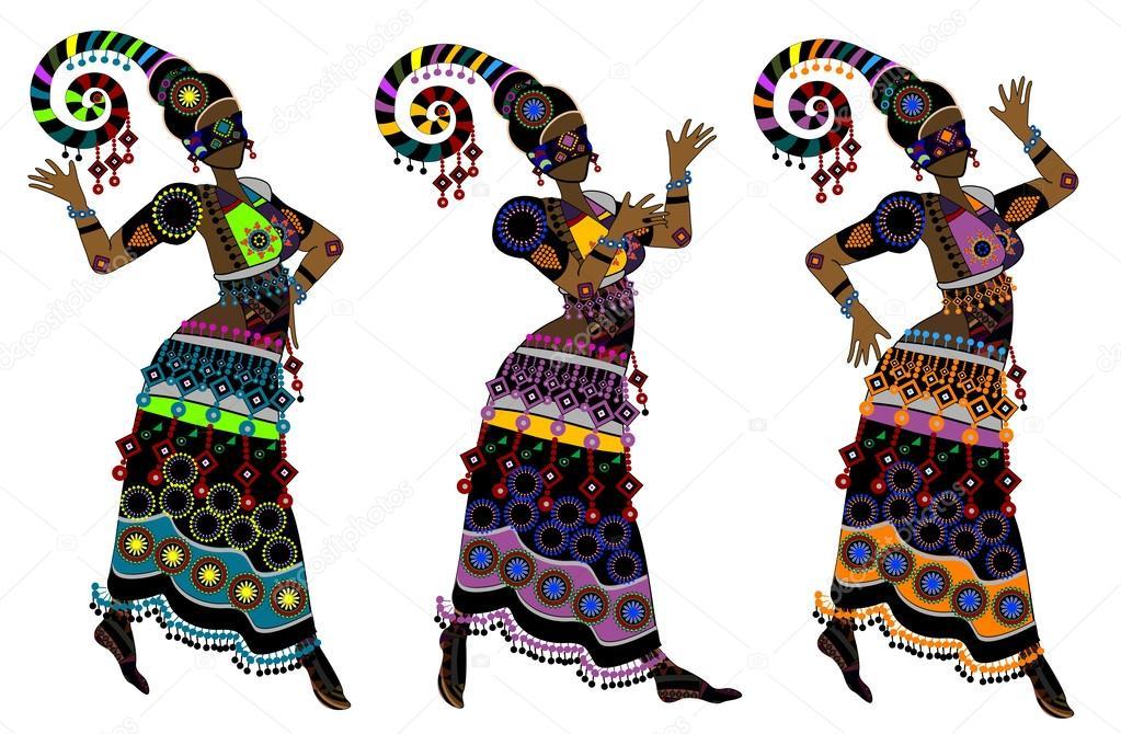 Этнический рисунок одежд