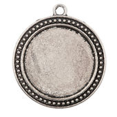 Vintage metal pendant — Stock Photo