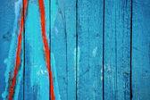 Peinture peelin bleue — Photo