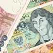 Stock Photo: Old polish banknotes