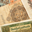 Old german money — Stock Photo