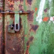 Stock Photo: Grunge metal door