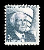 Timbre postal américain — Photo