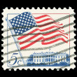 American post stamp — Stock Photo #16226325