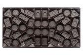 Empty box of chocolates — Stock Photo