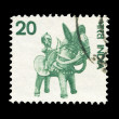 Indian post stamp — Stock Photo #18265029