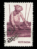 Indian post stamp — 图库照片