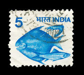 Indian post stamp — Stock fotografie