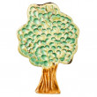 Handmade ceramic tree — Stock Photo