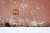 старый цемент стена — Стоковое фото