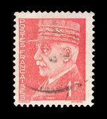 French post stamp — Stockfoto