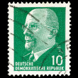 GDR post stamp - Stock Photo