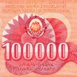 Stock Photo: One hundred thousand dinars
