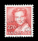 Danish post stamp — Stockfoto