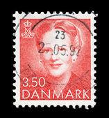 Timbro postale danese — Foto Stock